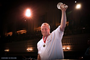 The International's Chef William Nemeroff,  Iron Chef champion                                               Courtesy Joe Santa Maria • Kill the Ball Media